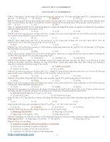 CHUYÊN đề 8 bài tập CACBOHIDRAT