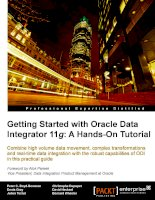 Getting Started with Oracle Data Integrator 11g: A Hands-On Tutorial ppt