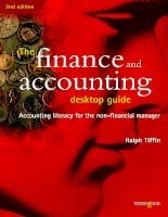 The finance and accounting desktop guide Accounting literacy for the non-financial manager pot