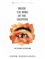 Herb sorensen inside the mind of the shopper  the science of retailing (2009)