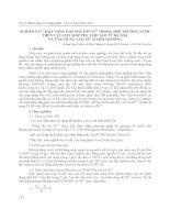 NGHIÊN CỨU KHẢ NĂNG HẤP PHỤ ION Ni2+ TRONG MÔI TRƯỜNG NƯỚC TRÊN VẬT LIỆU HẤP PHỤ CHẾ TẠO TỪ BÃ MÍA VÀ ỨNG DỤNG VÀO XỬ LÍ MÔI TRƯỜNG pdf