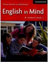 english in mind - student's book 1