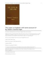 The Leper in England docx