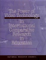 The Power of Video Technology in International Comparative Research in Education pot