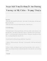 Soạn bài Truyền thuyết An Dương Vương và Mị Châu - Trọng Thuỷ ppt