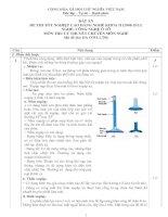 đáp án đề thi lý thuyết khóa 2 - công nghệ ôtô - mã đề thi oto - lt (6)