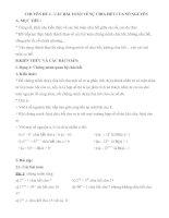 CHUYÊN ĐỀ 4 - CÁC BÀI TOÁN VỀ SỰ CHIA HẾT CỦA SỐ NGUYÊN pdf