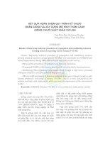 Kết quả hoàn thiện quy trình kỹ thuật nhân giống và xây dựng mô hình thâm canh giống chuối xuất khẩu VN1-064 doc