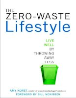 The zero waste lifetyle by amy korst ppt