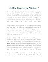 Taskbar độc đáo trong Windows 7 pdf