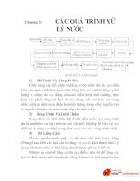 Chương 3: CÁC QUÁ TRÌNH XỬ LÝ NƯỚC pot