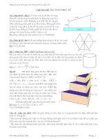 Chuyên đề: Bài toán thực tế pot