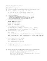 Bài tập thực hành RedHat Linux (version 1) pdf