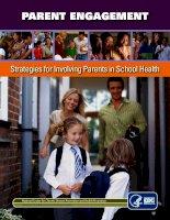 PARENT ENGAGEMENT: Strategies for Involving Parents in School Health pot
