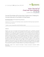 Asian Journal of Food and Agro-Industry potx