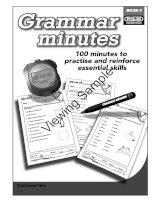 grammar minutes book 5
