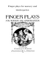 Finger plays for nursery and kindergarten doc