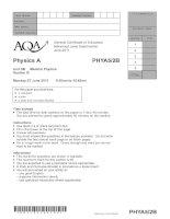 Vật lý A level: AQA PHYA5 2b w QP JUN11