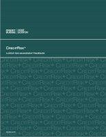 CREDITRISK+ A CREDIT RISK MANAGEMENT FRAMEWORK pptx