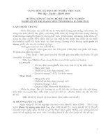 hướng dẫn sử dụng bộ đề thi tốt nghiệp nghề quản trị mạng máy tính khóa 2