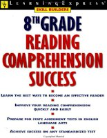 8th Grade Reading Comprehension Success doc