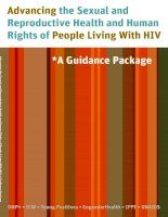 Advancing the Sexual and Reproductive Health and Human Rights of People Living With HIV pdf