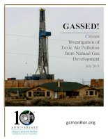 Citizen Investigation of Toxic Air Pollution from Natural Gas Development pdf