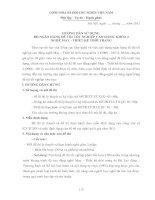 hướng dẫn sử dụng ngân hàng đề thi  may và thiết kế thời trang khóa 2
