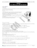 máy biến áp và sự truyền tải điện năng - vật lý 12