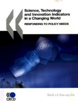 science technology and innovation indicators in a changing world_responding doc