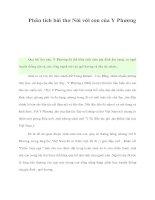 Phân tích bài thơ Nói với con của Y Phương pot