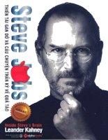 Steve Jobs thiên tài gàn dở và câu chuyện thần kỳ về quả táo cắn dở pot