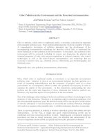 Odor Pollution in the Environment and the Detection Instrumentation potx