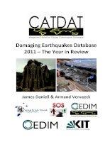 DamagingEarthquakesDatabase 2011–TheYearinReview docx