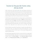 Facebook ''''ép'''' dùng giao diện Timeline: những điều bạn cần biết pdf