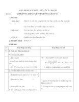 sự đồng biến và nghịch biến của hàm số -gv.lý thanh