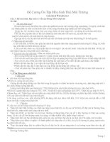Câu Trả Lời Đề Cương Ôn Tập Môn Sinh Thái Môi Trường docx