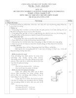 đáp án đề thi lý thuyết khóa 2 - công nghệ ôtô - mã đề thi oto - lt (50)