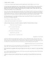 Sự phát triển của từ vựng (tiếp theo) - văn mẫu