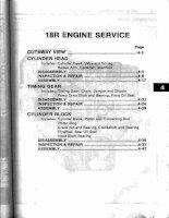 TOYOTA 18r ENGINE SERVICE MANUAL HƯỚNG dẫn sửa CHỮA ĐỘNG cơ TOYOTA 18r