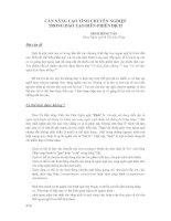 CẦN NÂNG CAO TÍNH CHUYÊN NGHIỆP TRONG ĐÀO TẠO BIÊN-PHIÊN DỊC pdf