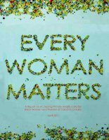 Every Woman Matters: A Report on Accessing Primary Health Care for Black Women and Women of Colour in Ontario pptx