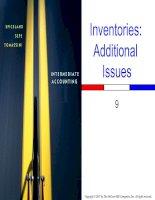 Intermediate Accounting - Chap009 potx