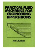 Practical fluid mechanics for engineering applications   bloomer