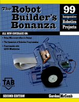 THE ROBOT BUILDER'S BONANZAGORDON McCOMB SECOND EDITIONMcGraw-HillNew York San Francisco ppt