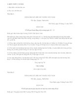 Soạn bài Văn bản báo cáo - văn mẫu