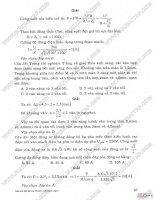 Giới thiệu và hướng dẫn giải chi tiết đề thi tuyển sinh đại học, cao đẳng môn vật lí khối a từ năm 2008 - 2012 part2