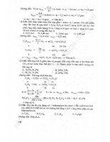 hướng dẫn giải nhanh bài tập trắc nghiệm hóa học 11-cao cự giác part 2