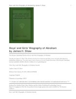 Boys'''' and Girls'''' Biography of Abraham pdf