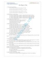 Đề Thi Thử Đại Học Khối A Vật Lý 2013 - Đề 41 pdf